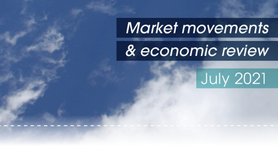 Market movements & review - July 2021